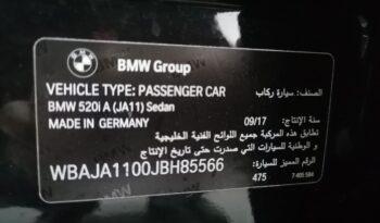 BMW 520i Exclusive Sedan full